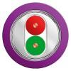 西门子紫色双芯屏蔽电缆