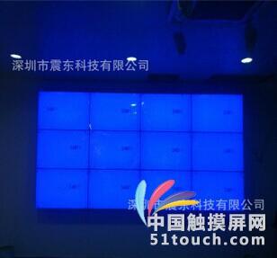 想DIY商用大屏液晶65寸触摸显示器马上来震东