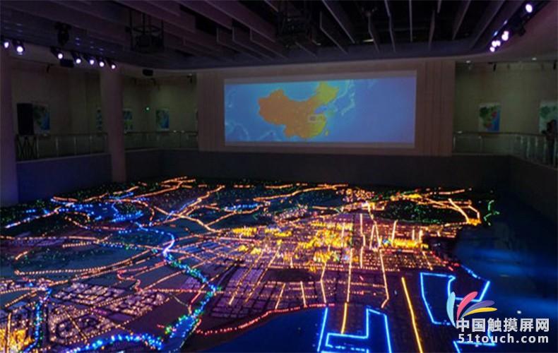 沙盘灯光电路图