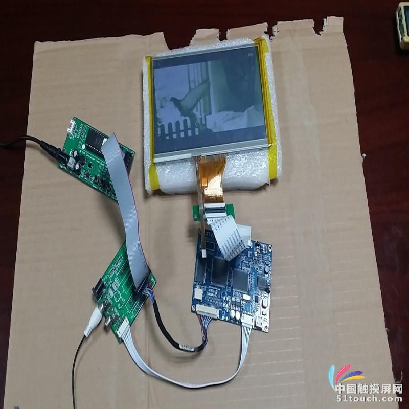 视频叠加控制板