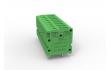 5.0针距单进双出针可拼接端子 LG105V-5.0