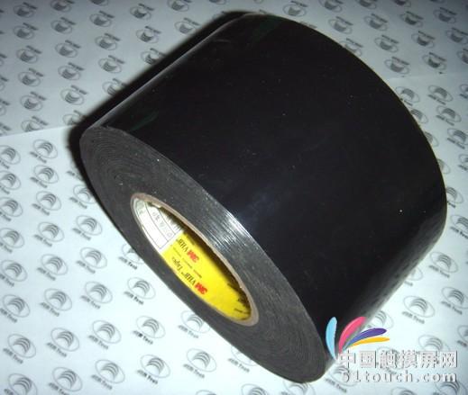 黑色压克力双面胶 亚克力黑色胶带