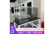 55寸OLED透明显示屏支持多屏拼接全国联保直销
